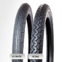 VỎ XE YOKOHAMA S100 vỏ trước 2.25-17 TT, vỏ sau 2.50-17 TT