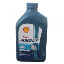 Nhớt Shell Advance 4T AX7 10W40 Synthetic Based 1L