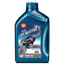 Nhớt Shell Advance AX7 Scooter 10W40 0.8L
