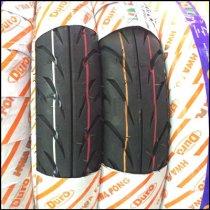 Vỏ xe DURO HF918 vỏ trước 80/90-14 TL, vỏ sau 100/80-14 TL