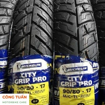 Vỏ xe Michelin City Grip Pro 90/80-17