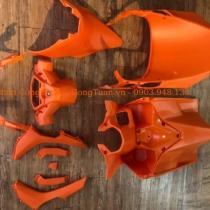 Dàn mũ nhám màu cam cho Vario - click